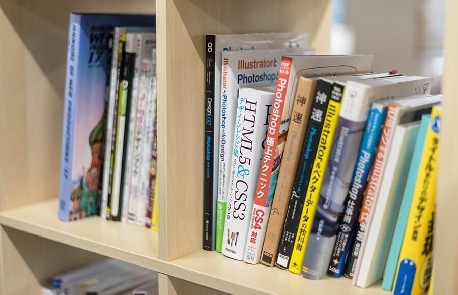 技術書の多い本棚